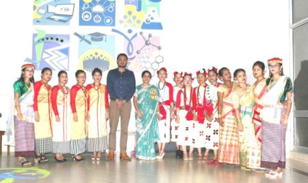 NORTH-EAST STUDENTS OF BHAI GURDAS GROUP CELEBRATED ARUNACHAL PRADESH STATE DAY