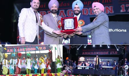 I.G. PATIALA INAUGURATED  ANNUAL TECH FEST ARMAGEDDON 17.0 ORGANISED AT BGGI